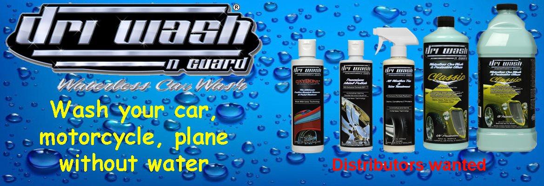 Driwash & Guard, Waterless car wash, DVS Canada